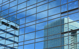 Office Building Reflections Royalty Free Stock Photo