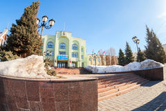 Office building of the Samara city Administration. City government office of Samara, Russia royalty free stock photography