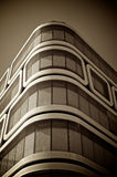 Office building, sepia toned Royalty Free Stock Photo
