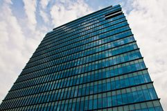 Office building in the sky Royalty Free Stock Image