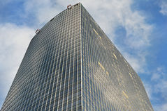 Office building and sky Royalty Free Stock Images