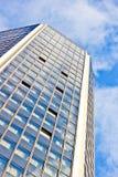 Office building on sky background Fotografía de archivo