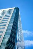Office building on sky background Fotografía de archivo libre de regalías