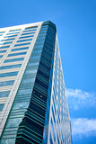 Office building on sky background. Royalty Free Stock Photography