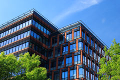 Office building at summer day Stock Photo