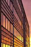 Office building at sunset Royalty Free Stock Photos