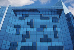 Office building tetris in game Royalty Free Stock Photo