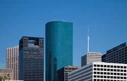 Office building tops Royalty Free Stock Photos