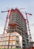 Office Building Under Construction Royalty Free Stock Photos