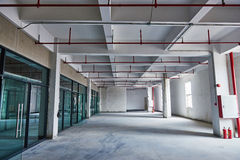 Office building commercial building under construction site Stock Image