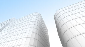 Office building for use as background Royalty Free Stock Image
