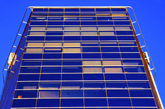 Office Building. In Vilnius. Bottom view Royalty Free Stock Images