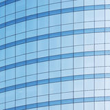 Office building wall. Royalty Free Stock Images
