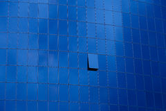 Office building window glass abstract pattern use for background. Business architecture concept. Stock Images