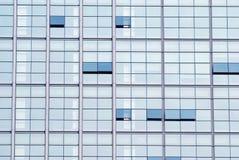 Office building windows. Windows of modern office building Stock Photos