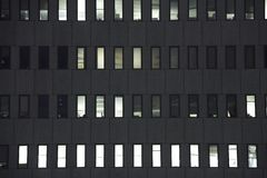 Office Building Windows 2 Royalty Free Stock Photo