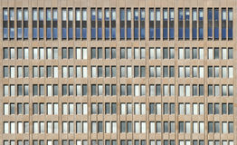 Office Building Windows. Rectangle with rectangular office building windows stock photo