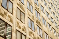Office building windows Royalty Free Stock Images