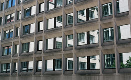 Office building windows reflection Royalty Free Stock Image