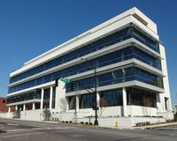 Office Building in Winston-Salem Stock Photography