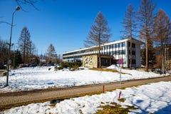 Office building in Zakopane Stock Image