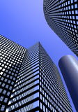 Office buildings. And skyscrapers in business area Stock Photo