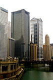 Office Buildings. In downtown Chicago Royalty Free Stock Photography