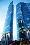 Office buildings Stock Image