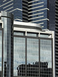 Office Buildings. In Melbourne's Southbank Royalty Free Stock Photography