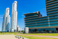 Office Buildings. In Rosario Argentina Royalty Free Stock Photography