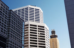 Office Buildings. In Minneapolis, MN Royalty Free Stock Images