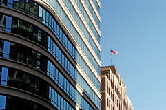 Office Buildings. In Minneapolis, MN Royalty Free Stock Photography