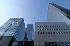Office Buildings. Modern Office Buildings in Rotterdam, Holland Stock Photography