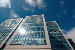 Office buildings. Exterior architecture of modern office buildings Stock Photo