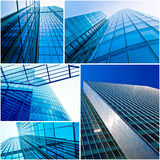 Office buildings. Royalty Free Stock Images