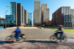 Office buildings in Amsterdam Zuid, Amsterdam. Stock Image