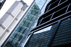 Office buildings architecture london city uk Stock Image