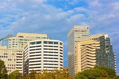 Office buildings in Arlington, Virginia. Royalty Free Stock Photography