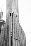 Office Buildings in Black and White Stock Images