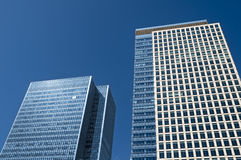Office Buildings in Canary Wharf. Stock Photography