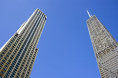 Office buildings in Chicago Stock Images