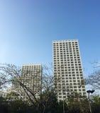 Office buildings at the Cholon district in Saigon, Vietnam Stock Photos