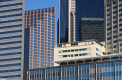 Office buildings in Dallas. Office buildings in downtown Dallas, Texas Stock Photos