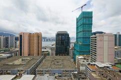 Office buildings at day, hongkong Royalty Free Stock Image