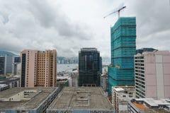 Office buildings at day, hongkong Royalty Free Stock Photography