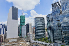 Office buildings at day, hongkong kwun tong Stock Photography