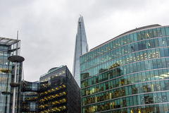 Office Buildings. In Downtown London. Photo taken on: February 13th, 2015 stock photo