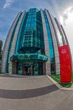 Office buildings ensemble located in a new business center on Be Royalty Free Stock Image