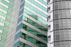 Office buildings exterior Stock Image