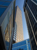 Office buildings  in the financial district of Frankfurt, Germ Royalty Free Stock Photo